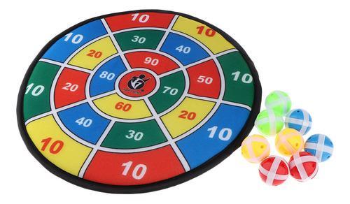 Tablero de dardos seguro de la tela del juego del dardo de