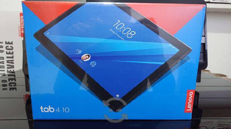 Tablet lenovo tab4 10 nueva android color blanco