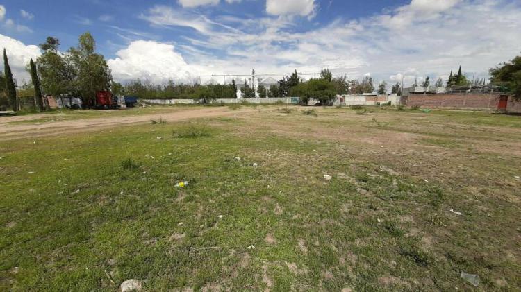 Terreno venta junto a maseca carretera leon-silao 5500 m2