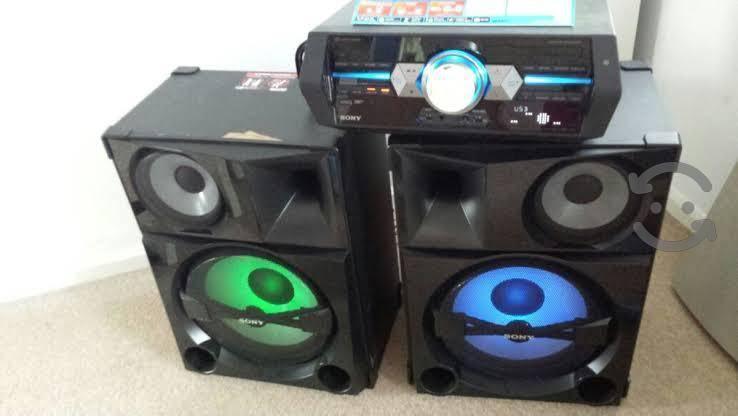 Home stereo sony shake 5