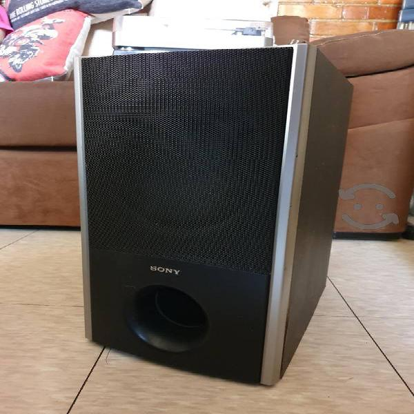 Subwoofer sony 8 pulgadas original home theater
