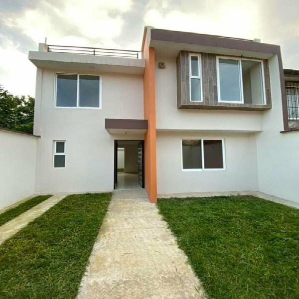 Casa amplia con jardin en la zona del tecnologico de xalapa