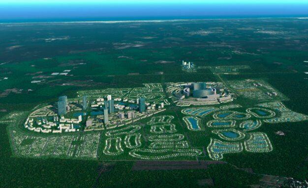 Terrenos residenciales en la ciudad del futuro. norte de