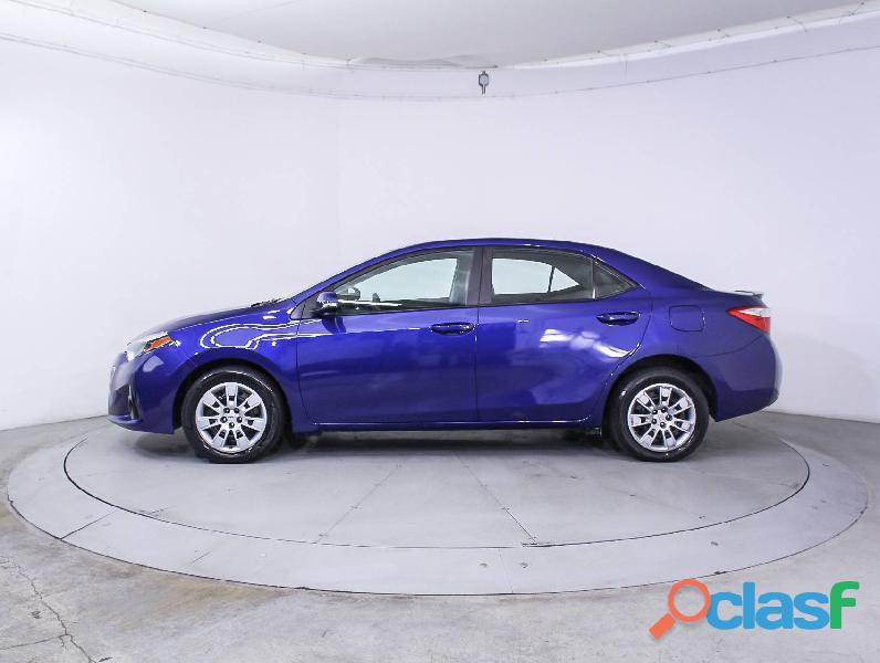 Toyota corolla azul año 2014
