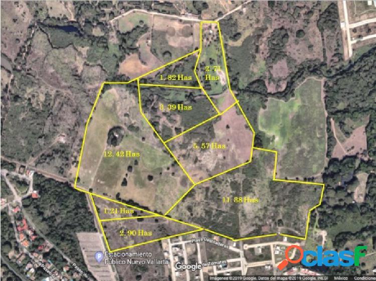 Terreno de 2.71 hectáreas en nuevo vallarta