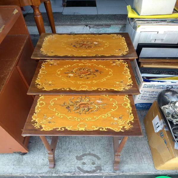 Antiguos juegos de mesas