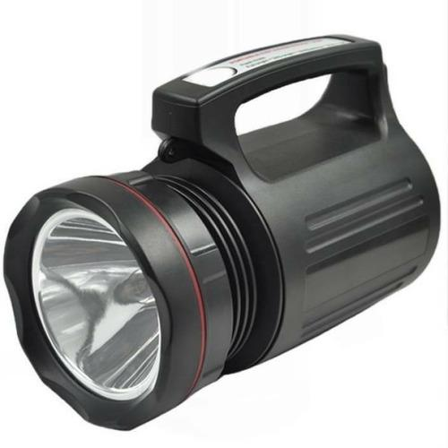 Linterna potente led grande t6 15w recargable multiusos 12cm
