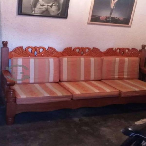 Sala nueva 3 piezas en madera de cedro