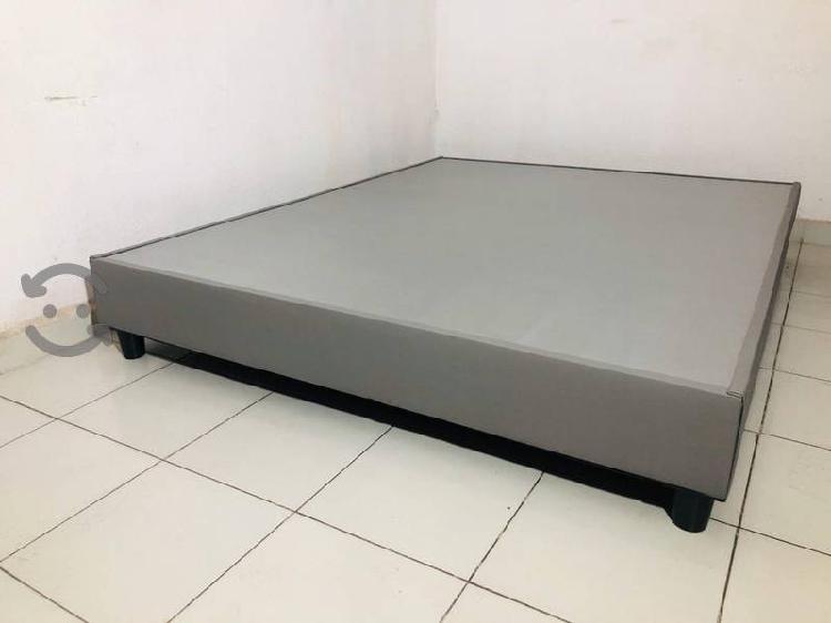 Bases de cama queen size macizo peso 80 kilos