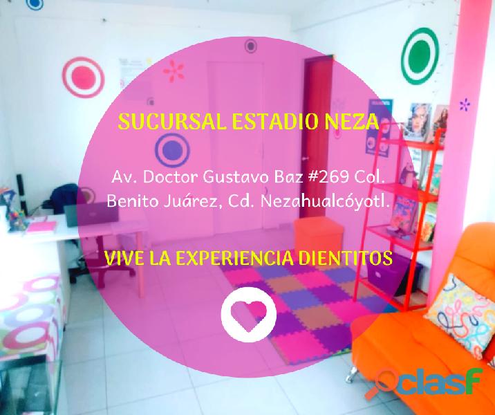 Dentista de niños en chimalhuacan