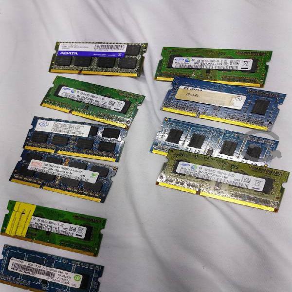 9 memorias para laptops ddr3