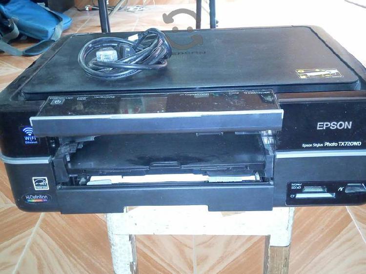 Impresora epson photo tx720wd