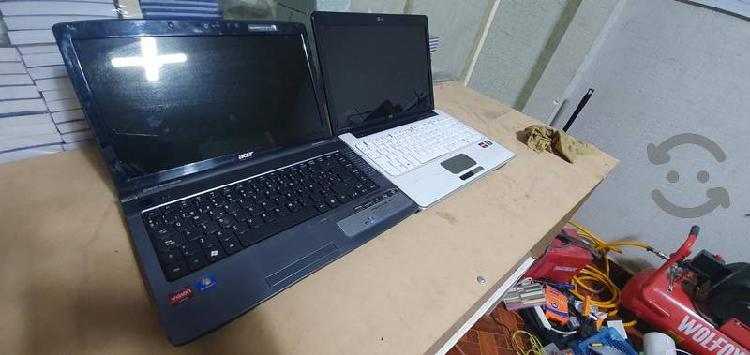 Laptops hp y acer para refacciones