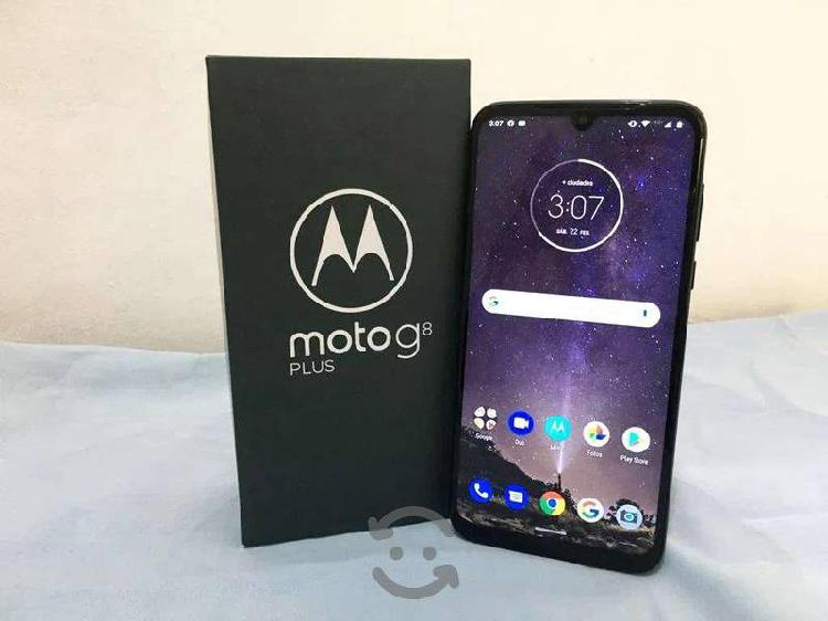 Motorola g8 plus nuevo en caja unico