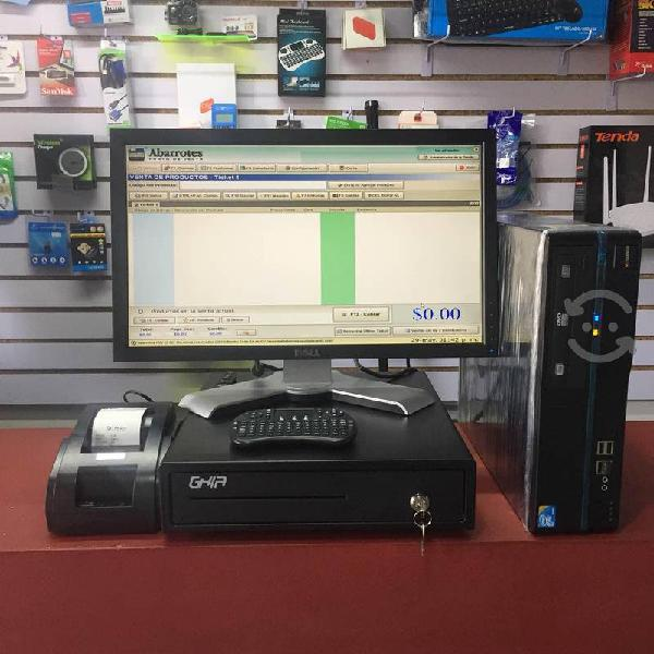 Sistema punto de venta 4gb ram 320gb