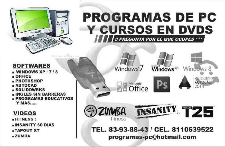 Software y programas licencias permanentes