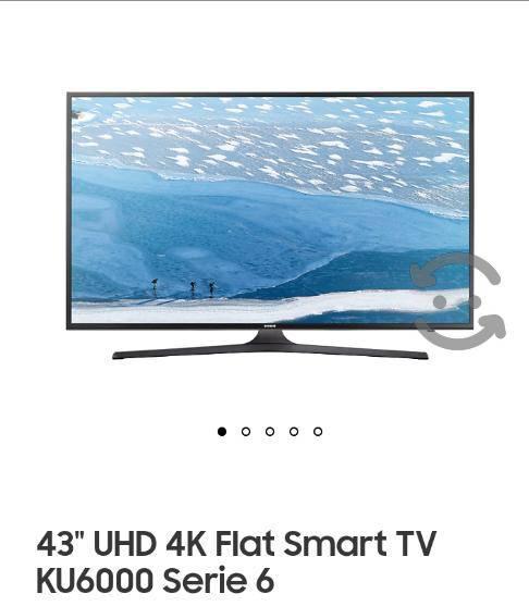 "Tv samsung smart tv led 4k uhd 43"""