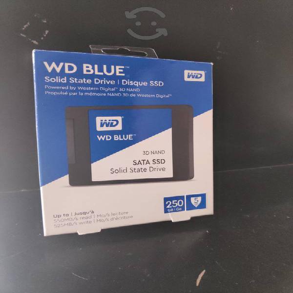 Unidad ssd 250 western digital 3d nand