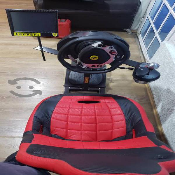 Cockpit simulador carreras
