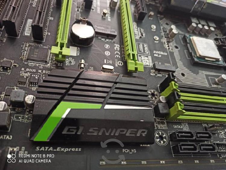 Procesador intel core i7 6700 con mother board