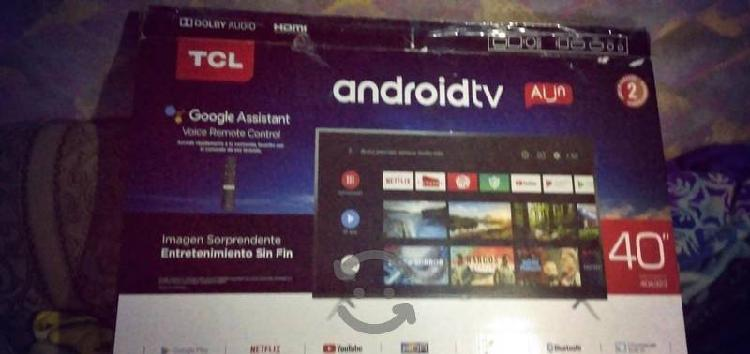 Smart android tv marca tcl 3 meses de uso