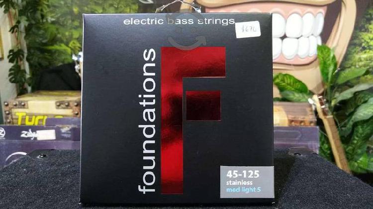 Cuerdas para bajo eléctrico