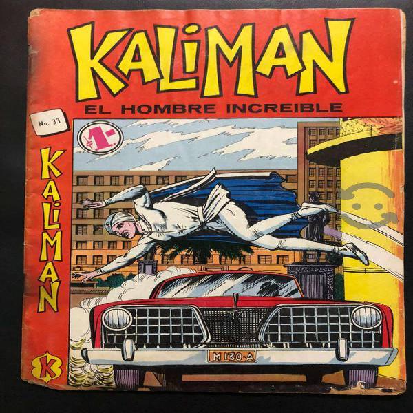 Kaliman comics de la primera epoca