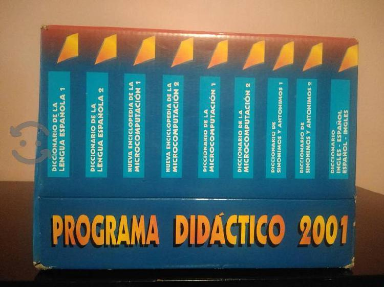 Programa didáctico de inglés computación