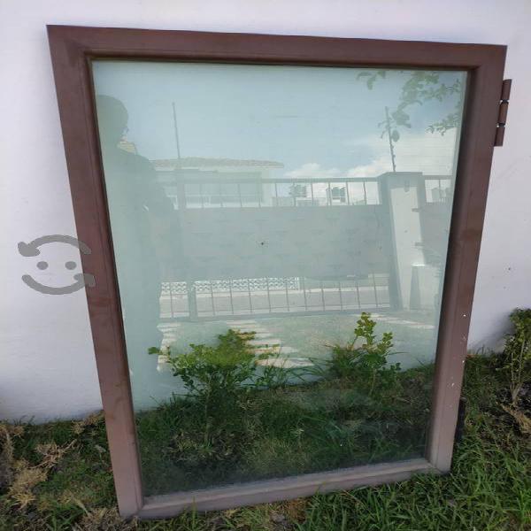 3 ventanas aluminio 80*1.30