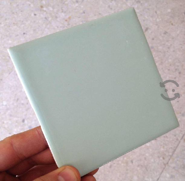 Azulejo mosaico azul 10x10 baño cocina piso pared