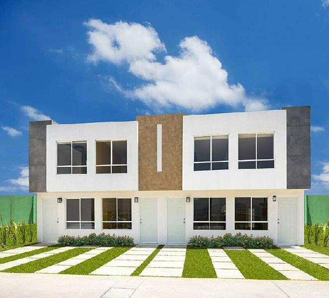 Casa en venta en los héroes chalco, chalco, 2 recámaras