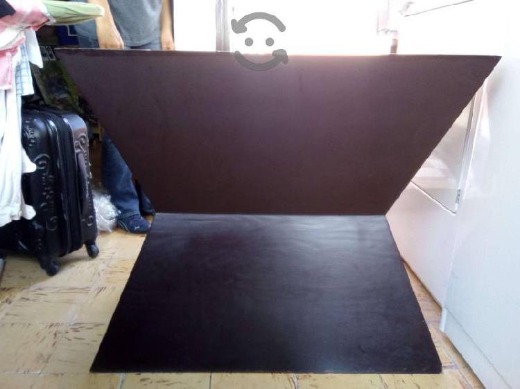 Comedor minimalista superficie de cristal 6 sillas