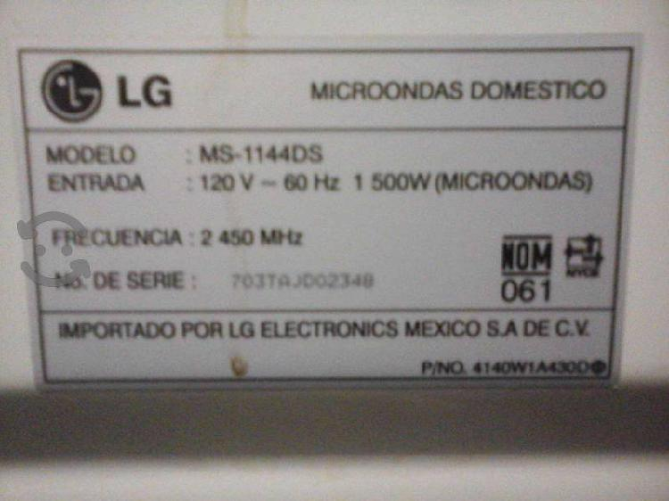 Dos hornos de microondas para refacciones o repara