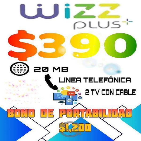 Internet telefonía cable