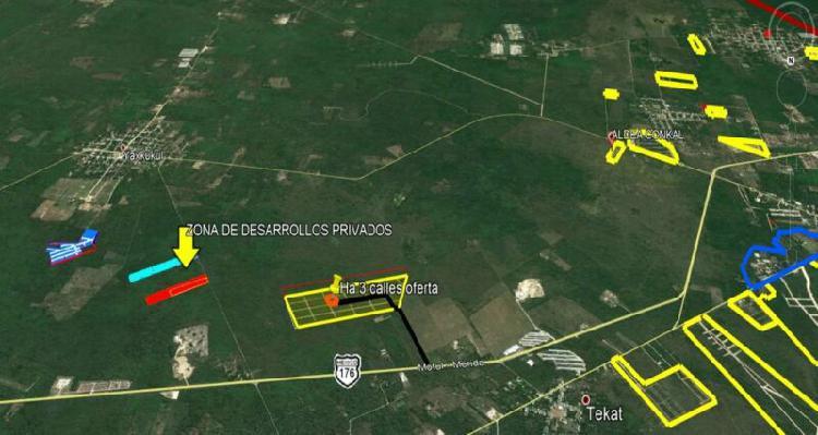 Invierte en tierra segura zona de conkal al norte de la
