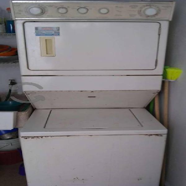 Lavadora y secadora whirlpool 18 kg oportunidad