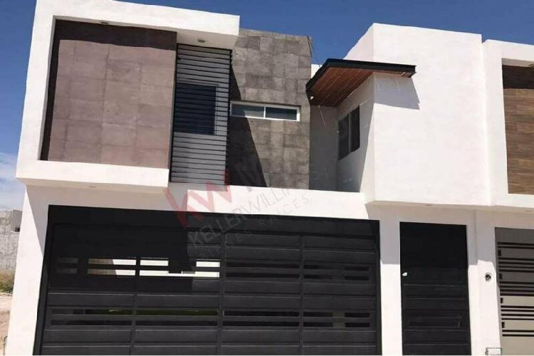 Nueva! hermosa casa amplia en venta, fraccionamiento san
