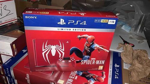Ps4 pro 1tb edición spiderman