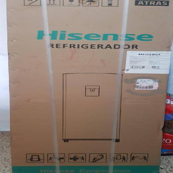 Refrigerador hisense nuevo