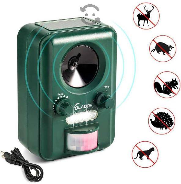 Repelente animales roedores silvestres ultrasonico