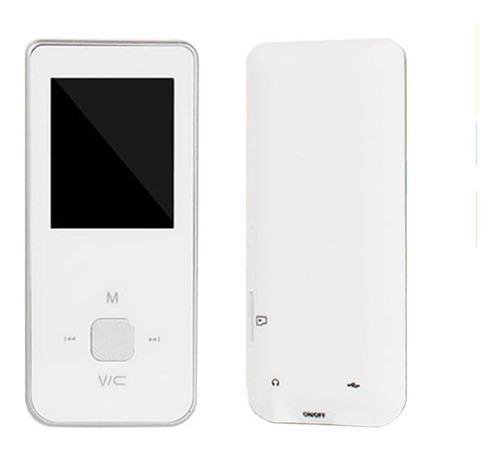 Reproductor mp3 mp4 digital vídeo rádio blanco music