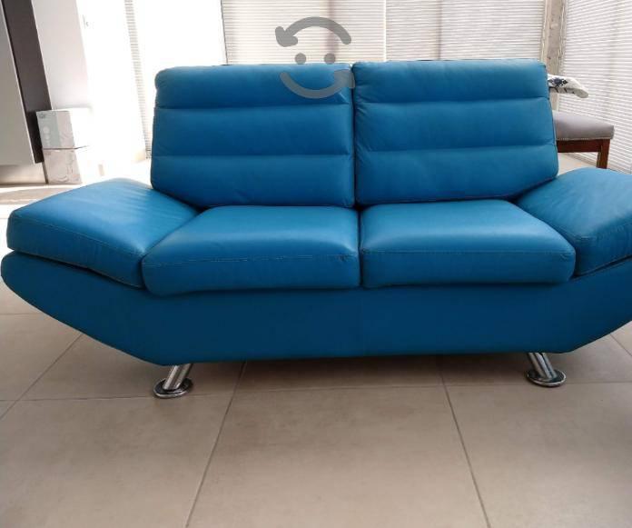Sala love seat turquesa