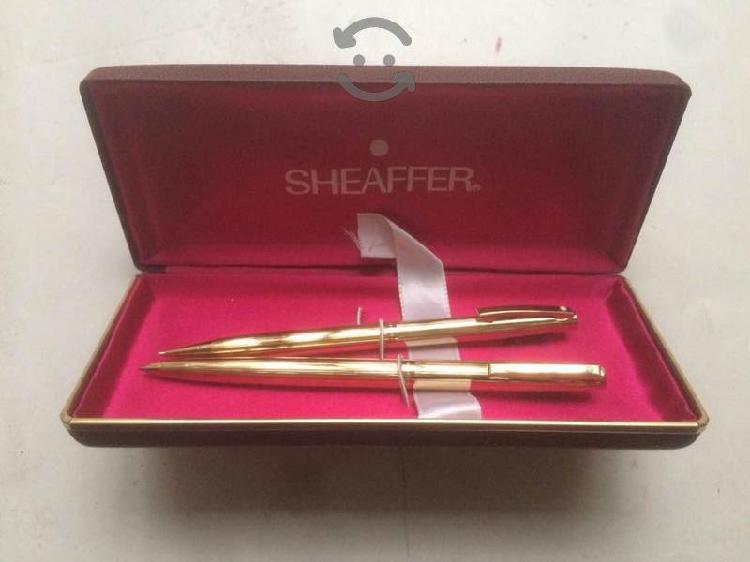 Sheaffer juego plumas modelo 727 pluma y lapicero