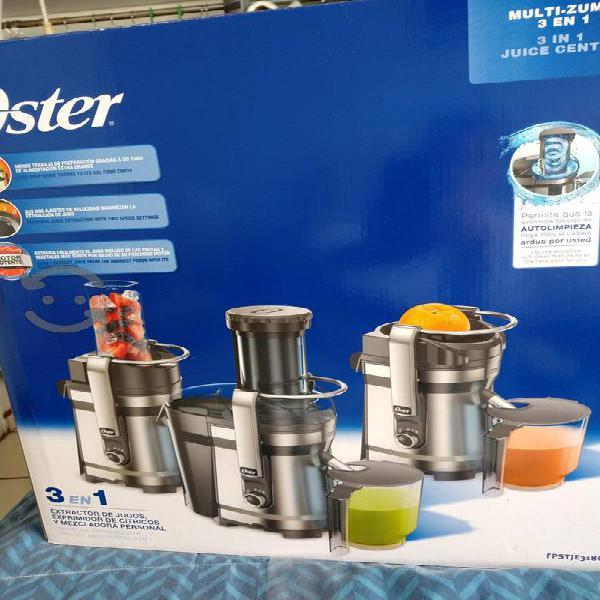 Extractor de jugos oster 3 en 1 nuevo