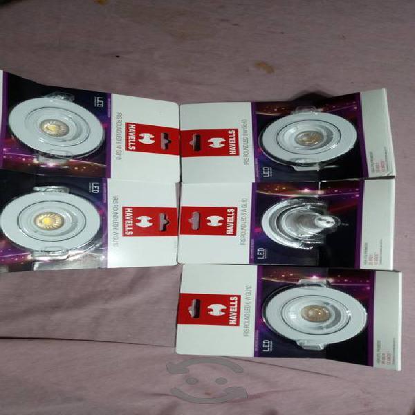 Lámparas de leds 6 wattss nuevas