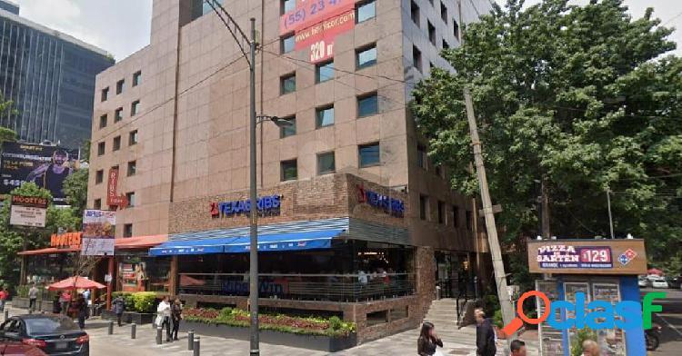 Oficinas en renta en insurgentes sur, oficinas en renta con una superficie de 5000 m2.