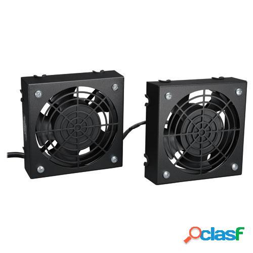Tripp lite juego de ventilador para instalación en pared, 120v, 210cfm
