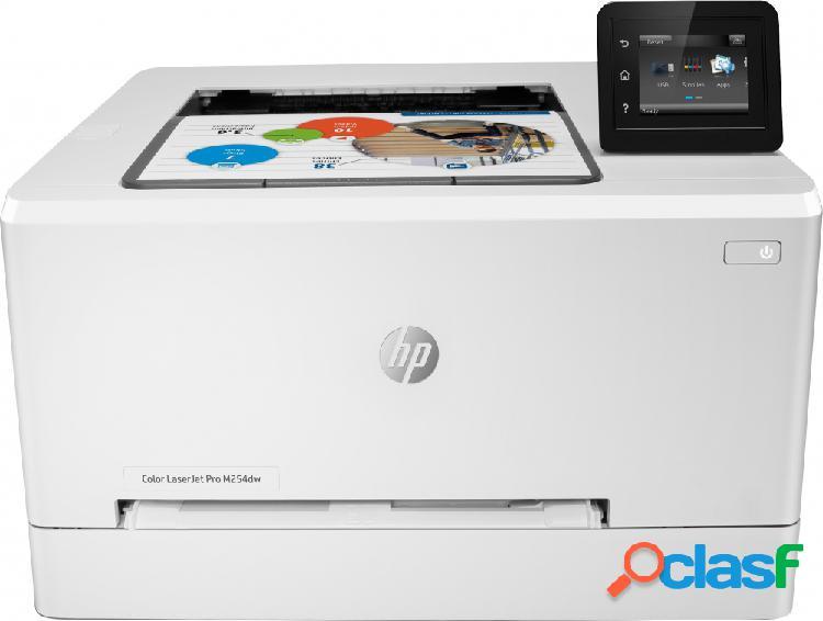 Hp laserjet pro m254dw, color, láser, print