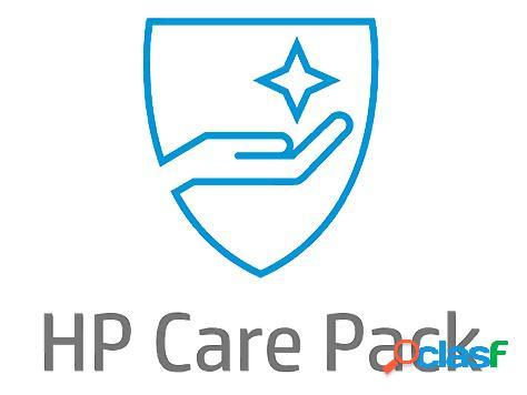 Servicio hp care pack 3 años en sitio con respuesta al siguiente día hábil para laptops (u9ba7e)
