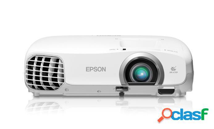 Proyector epson powerlite home cinema 2030 3lcd, 1080p (1920x1080), 2000 lúmenes, 2d/3d, blanco